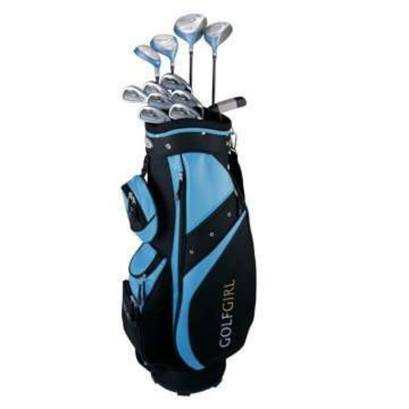 GolfGirl FWS Golf Clubs Package Set + Bag