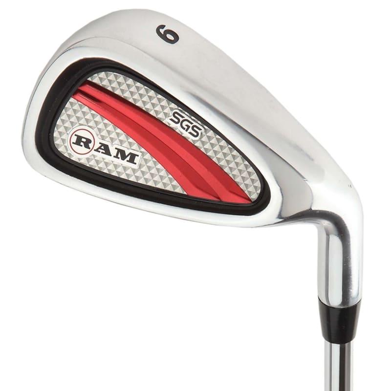 OPEN BOX Ram Golf SGS Mens Golf Clubs Starter Set with Stand Bag - Steel Shafts #3