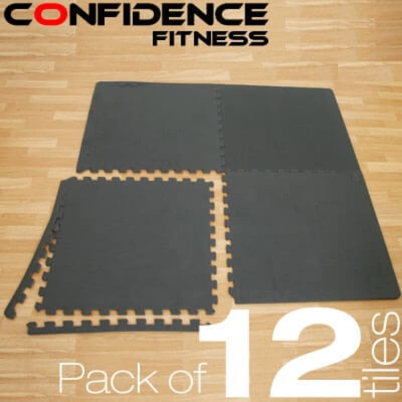 Confidence EVA Floor Mat / Guards - 12 Tiles