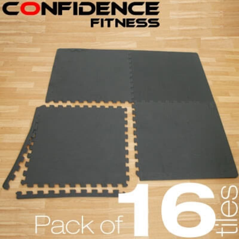 Confidence EVA Floor Mat / Guards V2 - 16 Tiles