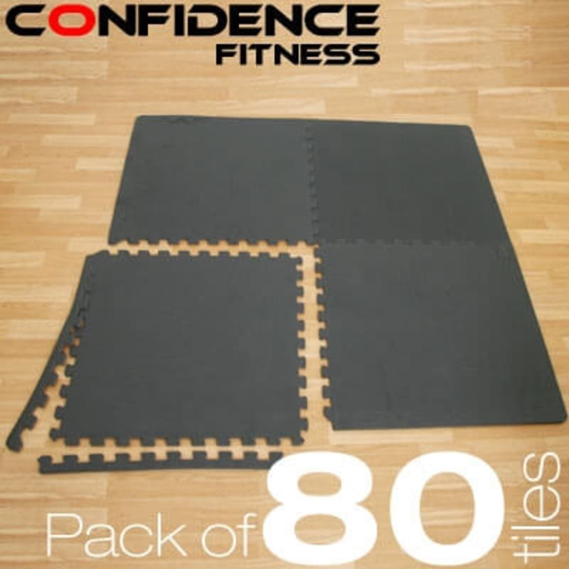 Confidence EVA Floor Mat / Guards V2 - 80 Tiles