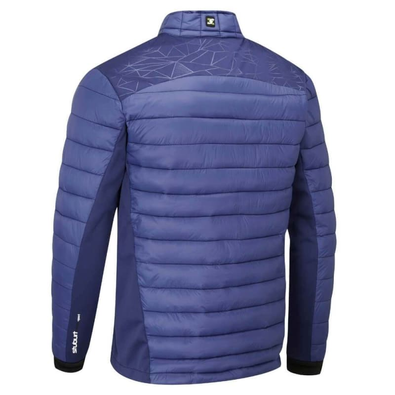 Stuburt Golf Evolve Sport Half Zip Padded Jacket Navy Back