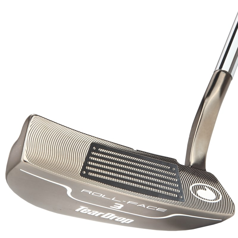 TearDrop Golf Roll-Face 3 Putter