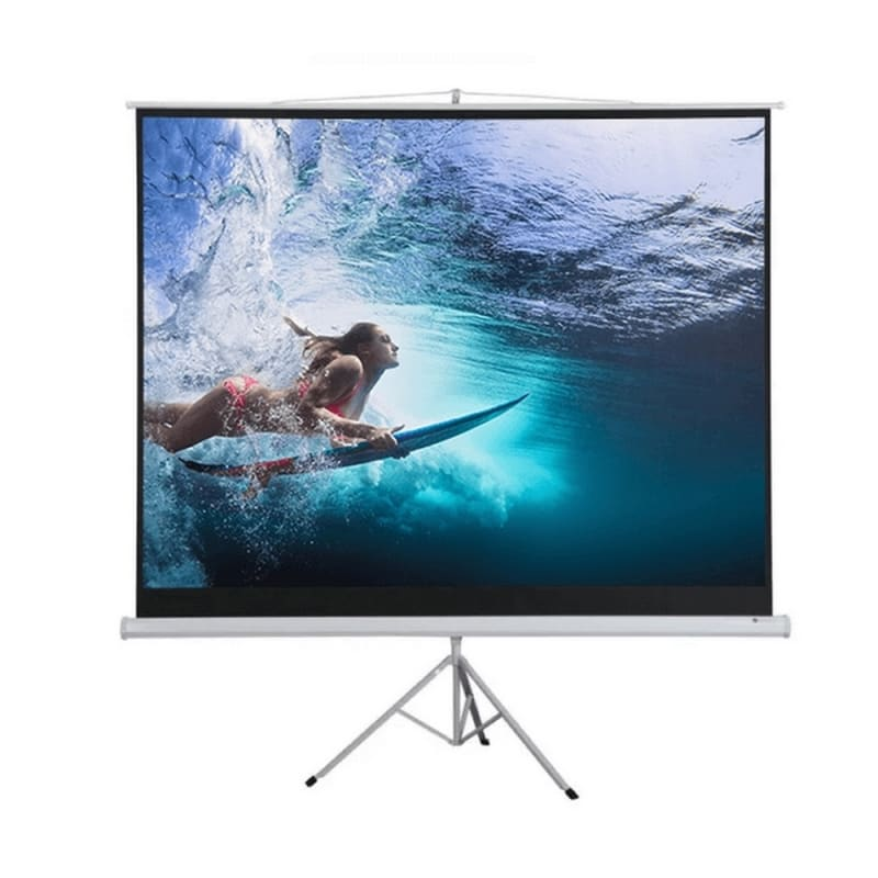 "Homegear 100"" HD 4:3 Tripod Projector Screen"