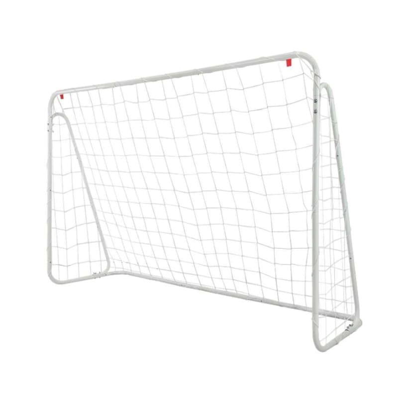 Woodworm Metal Soccer Goal - 6ft x 4ft Soccer Goal with Target Nets #1