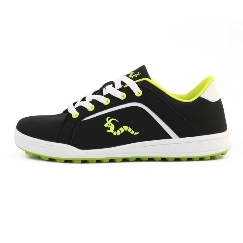 Woodworm Golf Surge V3 Mens Golf Shoes Black/Neon #2