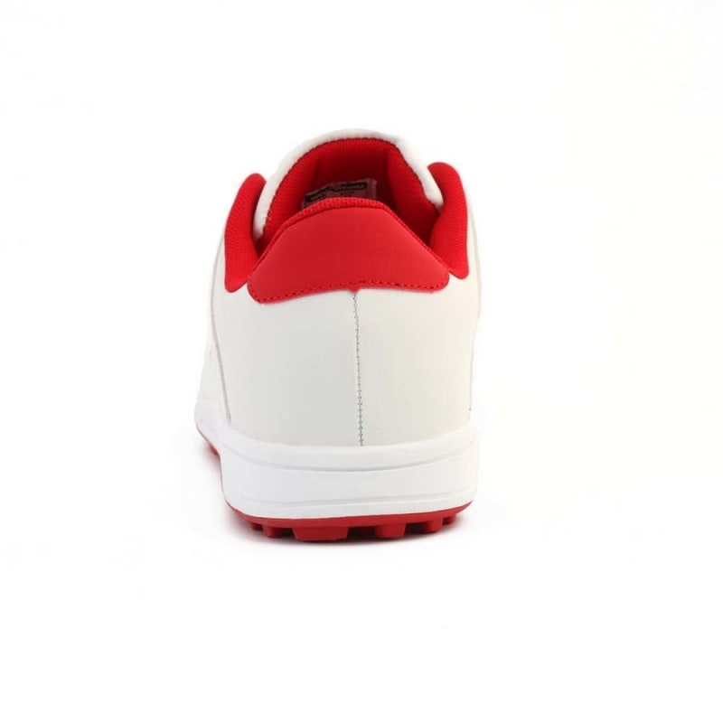 Woodworm Golf Surge V3 Mens Golf Shoes White/Red #4