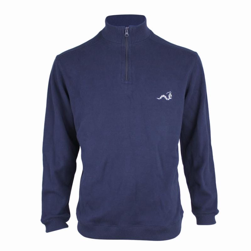 Woodworm 1/2 Zip Sweater