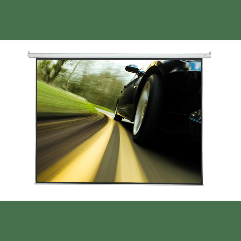 """Homegear 150"""" 4:3 HD/3D Electric Projector Screen"""