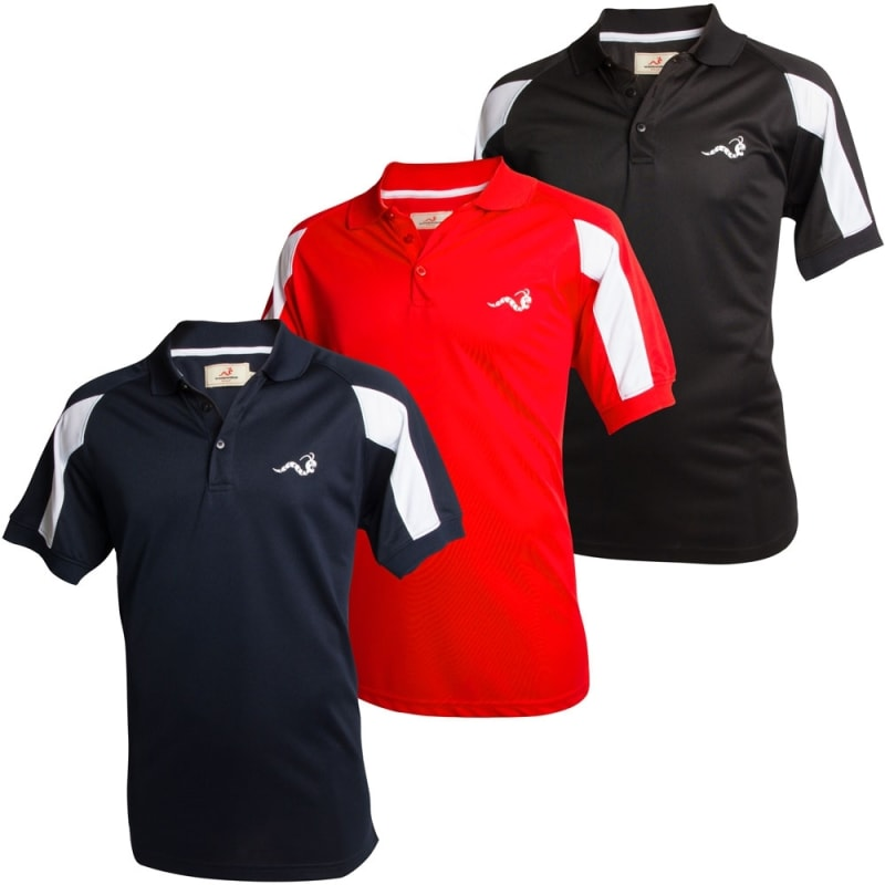 Woodworm Golf Tour Performance Polo Shirts - 3 Pack