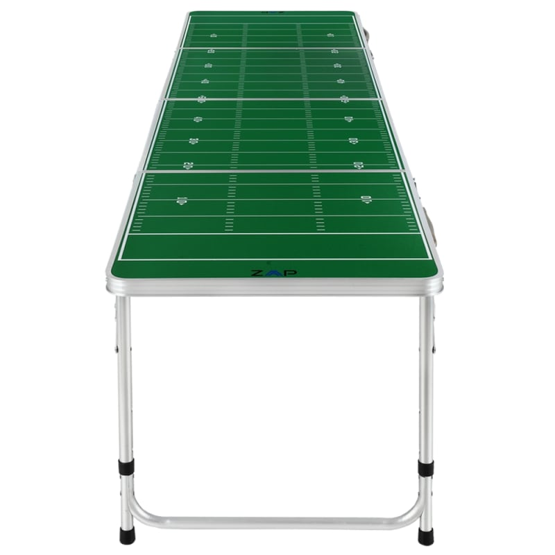 Zaap 8ft Tournament Size Folding Beer Pong Table - Football Field #1