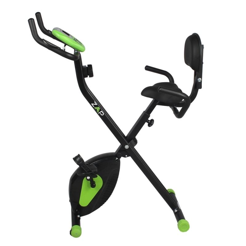 Exercise Bike Next Day Delivery: ZAAP Fitness Folding Recumbent Upright Exercise Bike Just