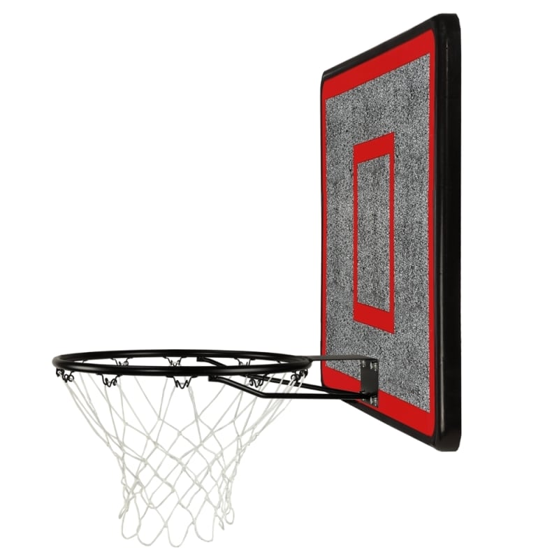ZAAP Outdoor Wall Mounted Basketball Hoop, Backboard and Net Set #2