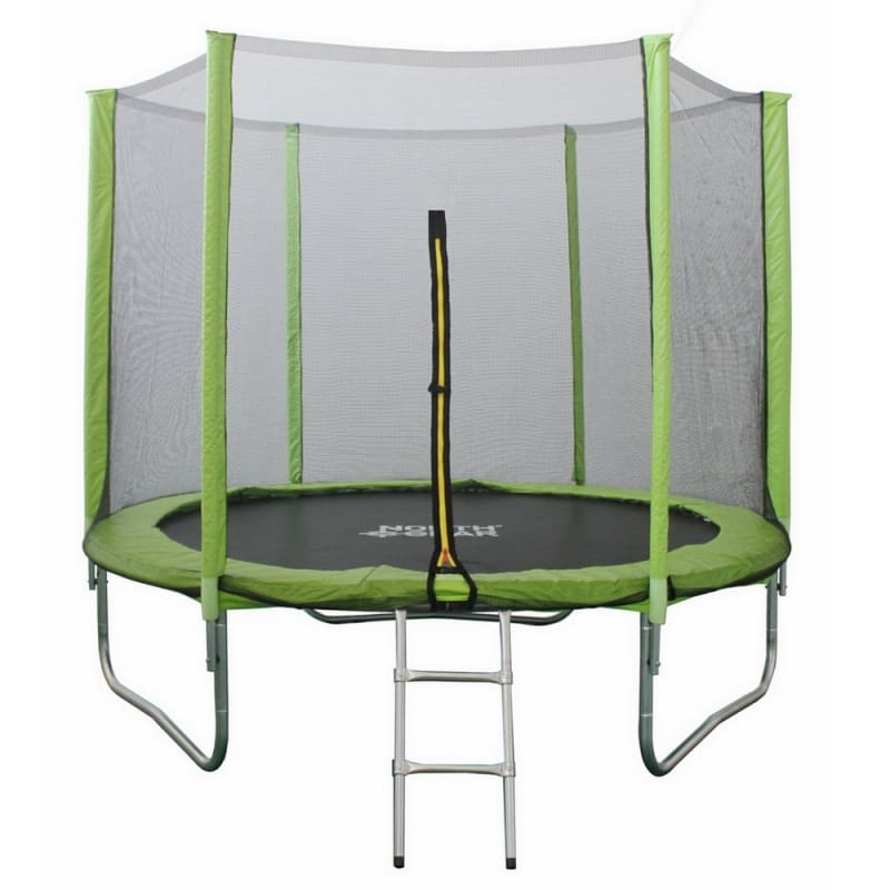 North Gear 8ft Trampoline Set with Safety Enclosure and Ladder