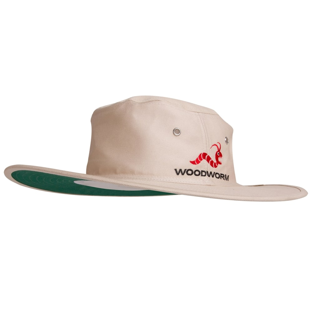 Woodworm Cricket Wide Brim Sun Hat - Small - Woodworm Direct ... c2ae5aa288d