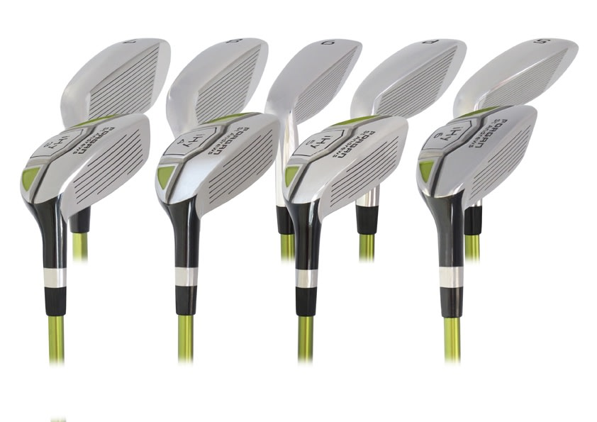 Forgan of St Andrews iHy Hybrid Combo Irons Set - 3-SW