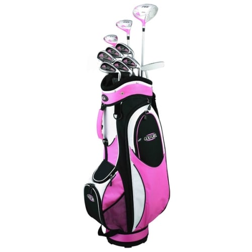 OPEN BOX GolfGirl FWS2 Golf Clubs Package Set + Bag PINK