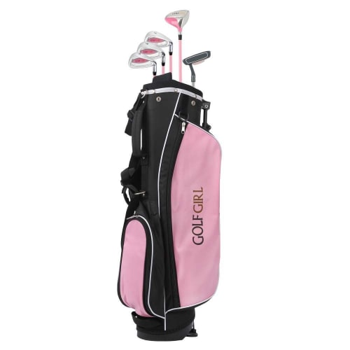 Golf Girl Pink V2 Junior Set inc Bag - Right Hand