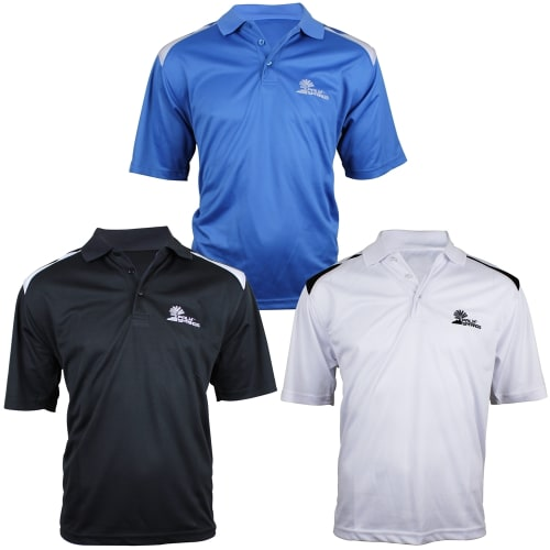 Palm Springs Golf Tour Pro Polo Shirts - 3 Pack