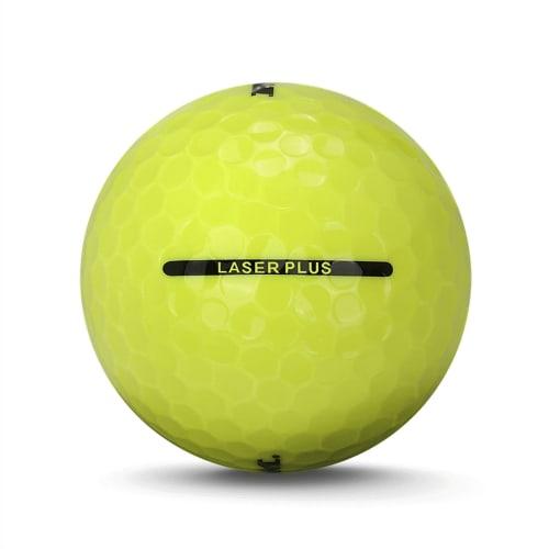36 Ram Laser Plus Golf Balls - Yellow