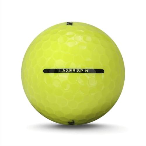36 Ram Golf Laser Spin Golf Balls - Yellow