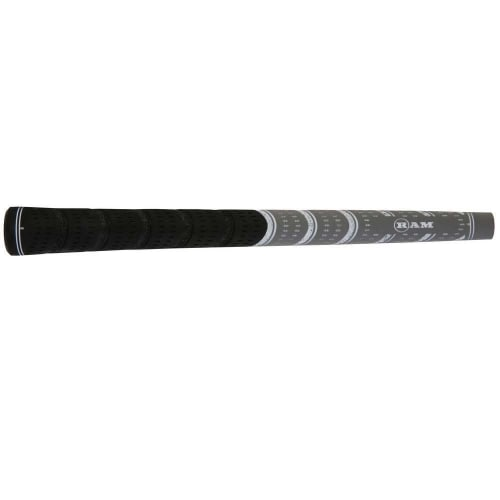 7 x Ram FX Standard Golf Grip- Black/Grey