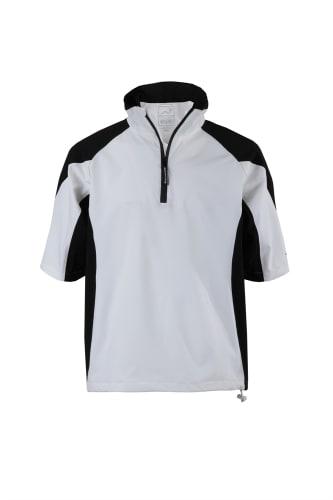 Woodworm Golf V2 Waterproof Half Sleeve Top White