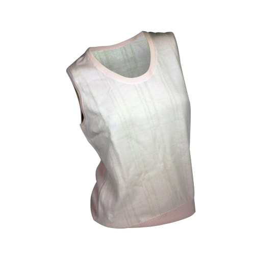 Ashworth Ladies Cross Striped Vest