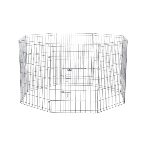 Confidence Pet Metal Dog Playpen - X Large