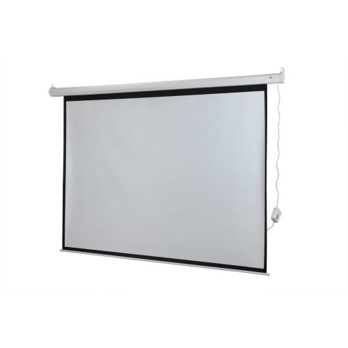 """Homegear 110"""" HD Motorized 4:3 Projector Screen"""