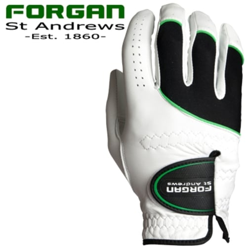 2 x Forgan PREMIUM CABRETTA MENS Right Hand GOLF GLOVES
