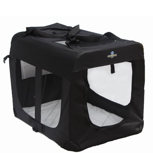 Confidence Pet Portable Folding Soft Dog Crate - Large