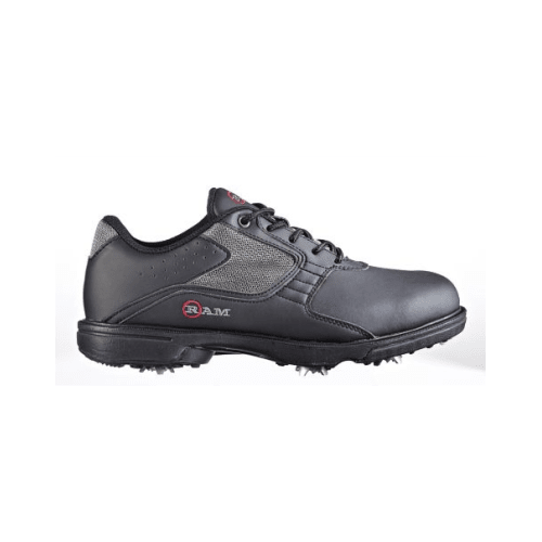 Ram Men's Cato Golf Shoes, Black