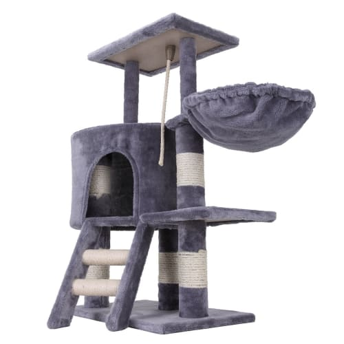 Ex-Demo Confidence Pet Deluxe Cat Tree - Grey