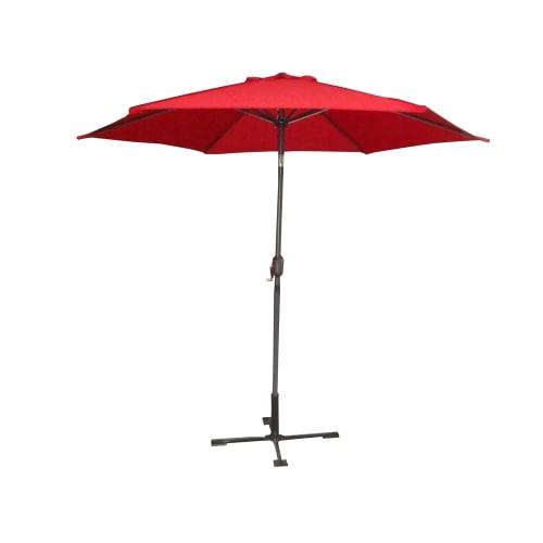 Palm Springs 10ft Aluminium Patio Umbrella Red