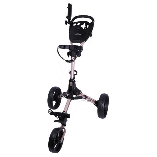 Caddymatic Titanium 3 Wheel Folding Golf Trolley