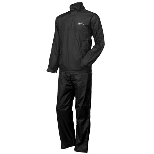 Confidence Waterproof Rainsuit Black