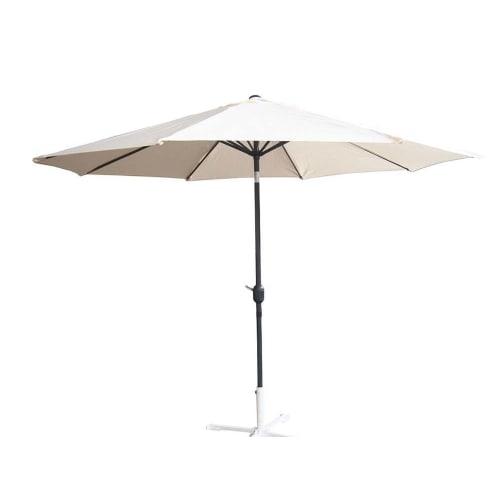 Palm Springs 9ft Aluminium Patio Umbrella w/ Tilt Cream