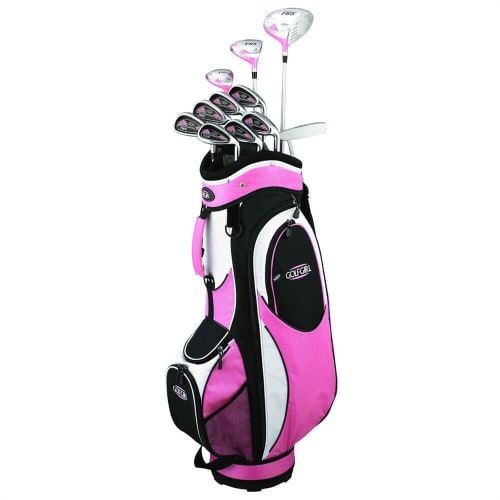 GolfGirl FWS2 Petite Golf Clubs Package Set + Bag PINK
