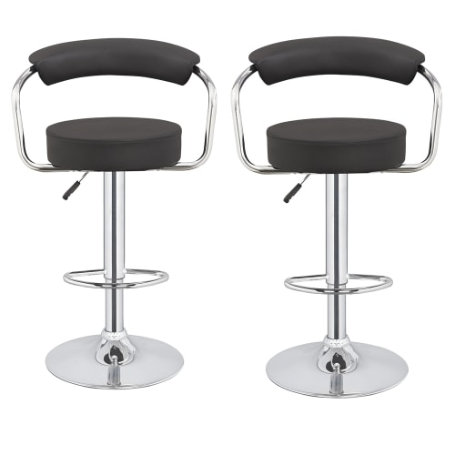 2x Homegear M1 50s Diner Adjustable Bar Stool