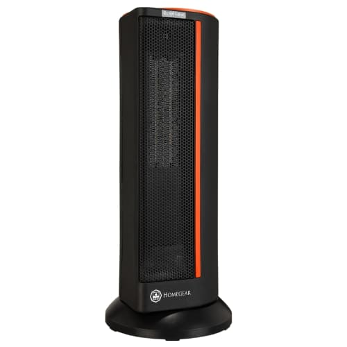 OPEN BOX Homegear Electronic Oscillating Tower Heater with Remote Control and Digital Control Panel