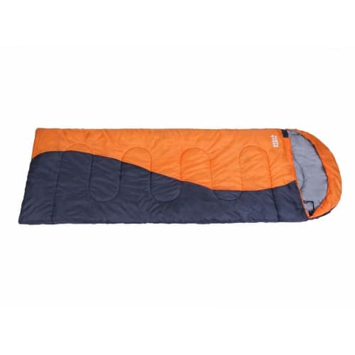 OPEN BOX North Gear Camping Envelope Sleeping Bag With Hood