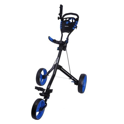 MacGregor Golf VIP 3 Wheel Golf Cart - Black/Blue