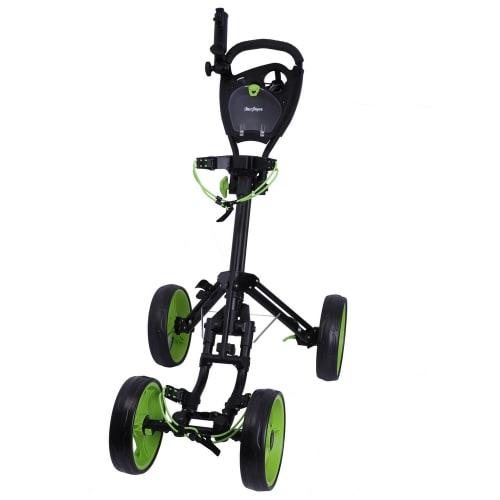 MacGregor Response Deluxe 4 Wheel Golf Cart- Black/Green