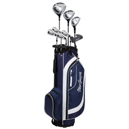 MacGregor Golf CG2000 Ladies Golf Club Package Set with Stainless Steel Irons, ALL GRAPHITE SHAFTS, Lady Flex