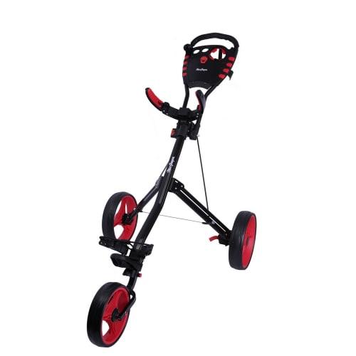 MacGregor Golf VIP 3 Wheel Golf Cart - Black/Red