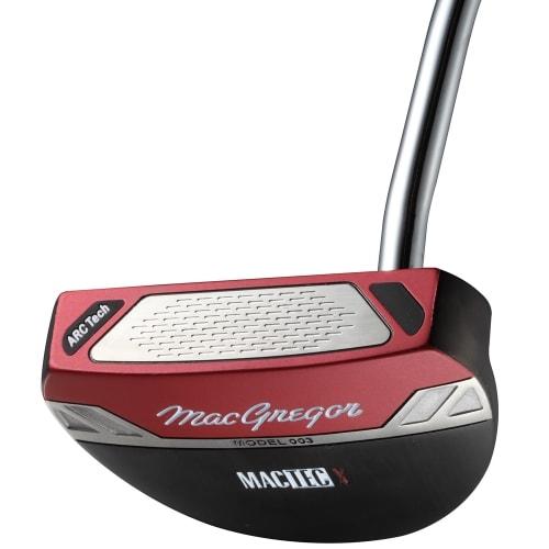 MacGregor Golf MacTec X 003 Wingback Mallet Putter, Mens Right Hand, Headcover