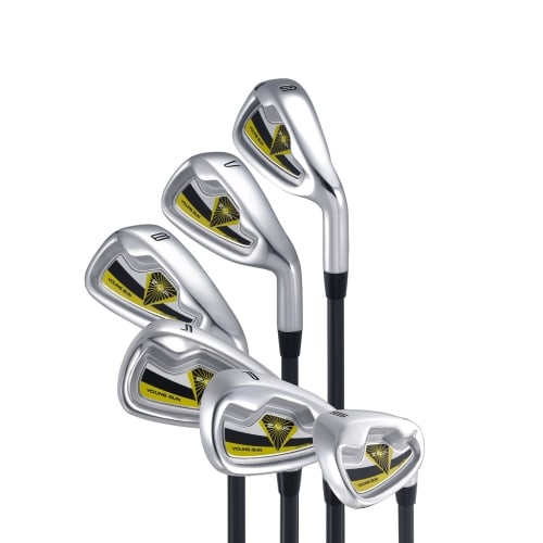 Young Gun ZAAP 6 - SW Junior Golf Iron Set Yellow 3-5