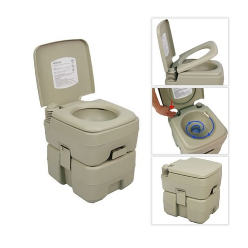 Palm Springs 5 Gallon Portable Toilet V2