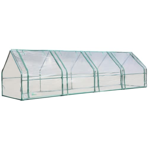 "Palm Springs Gardening Cloche Greenhouse (141"" x 36"" x 36"")"